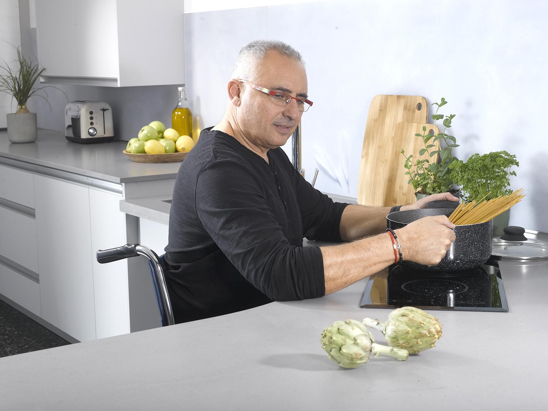 עיצוב מטבח מודרני לבעלי מוגבלויות