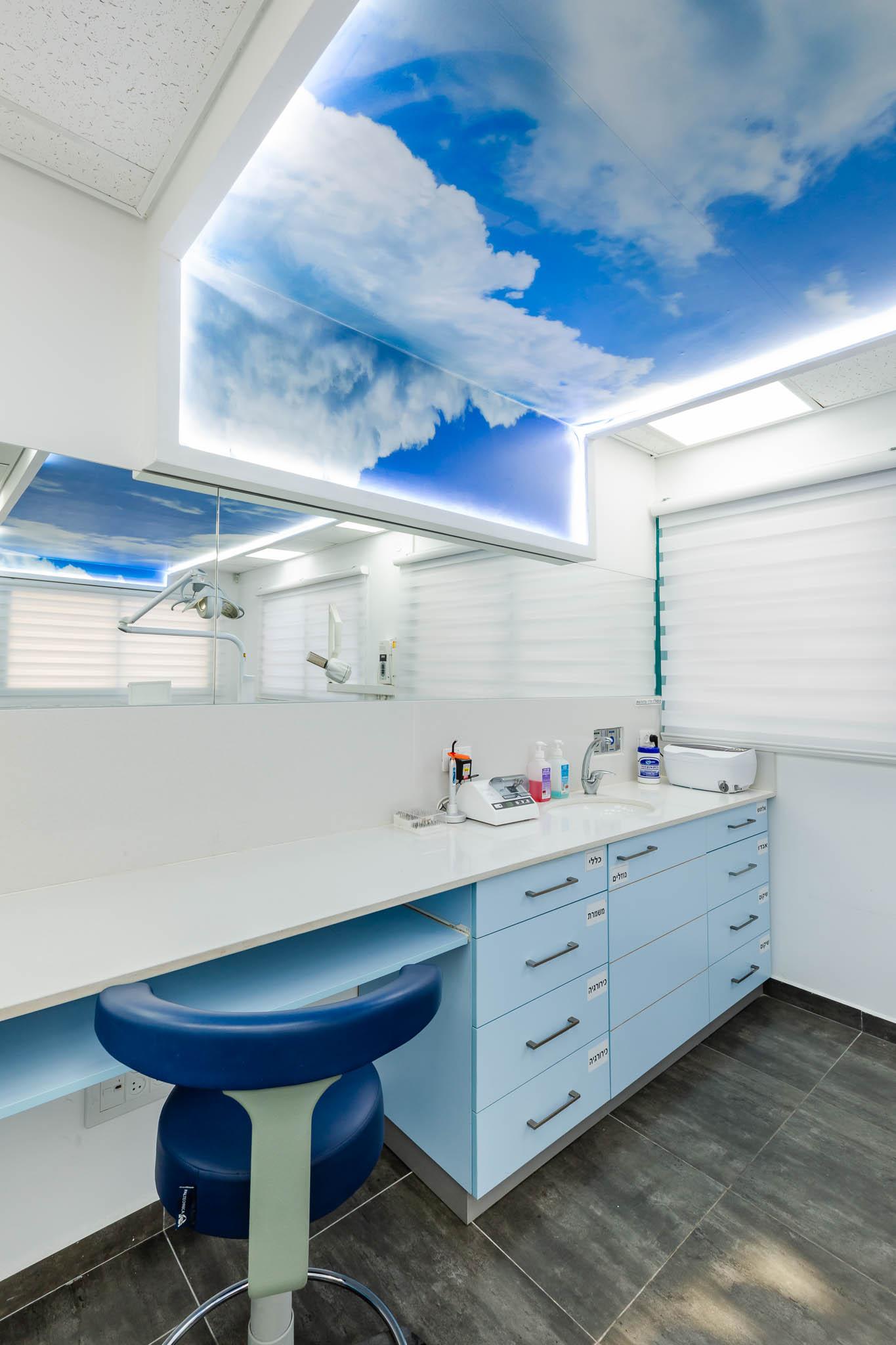 עיצוב קליניקה לטיפולי שיניים